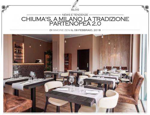 Chiuma's su Fine Dining Lovers