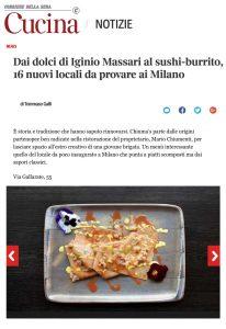 Chiuma's ristorante napoletano a Milano, nuove aperture, dove mangiare